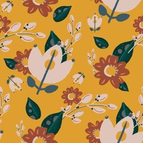 Arizona Collection - Mustard Floral