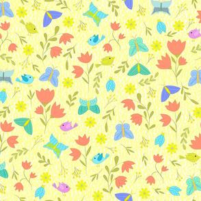 spring flora and fauna