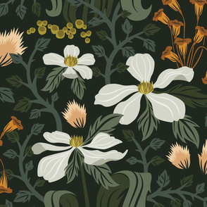 Crawling Vines Wallpaper