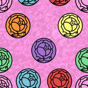 Revolutionary Roses Tiling