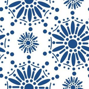 Classic Blue Star Henna