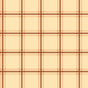 neutral plaid