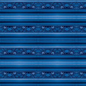 Mexican Blue Serape