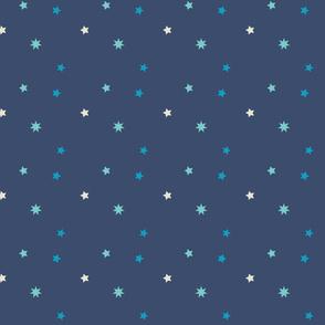 magic blue stars
