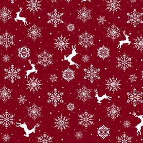 Reindeers and Snowflakes