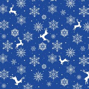 Reindeers and Snowflakes-BU
