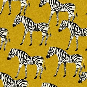 zebra fabric - zebra wallpaper, zebra print, animal print, african fabric, african print, home dec fabric - mustard