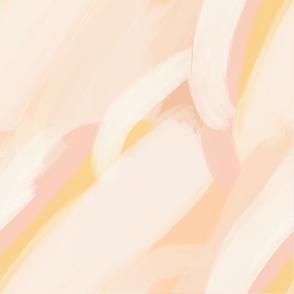 joyous abstract landscape  - XL scale
