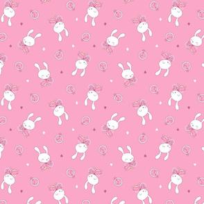 Alice in Wonderland - Rabbit - pink