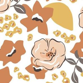 Flower Girl - Terra Cotta Summer Large Scale