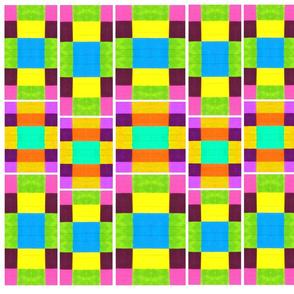 Bright Colorful Squares