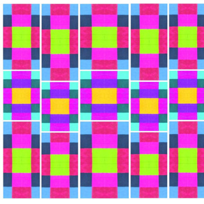 Bright Pink Squares