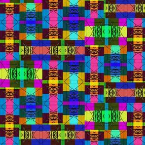Colorful Organic Grid