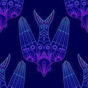 Celestial Geometric Bird