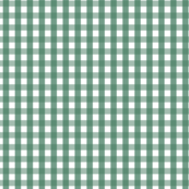 Green Gingham (Small)