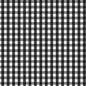 Black Gingham (Small)