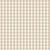 Beige Gingham (Small)