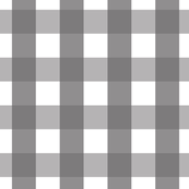 Charcoal Gray Gingham (Large)
