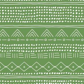 Minimal mudcloth St Patrick's Day bohemian mayan abstract indian summer love aztec design army green