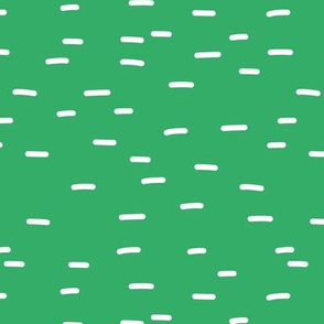 Minimal striped style Irish dashes for St Patrick's Day apple bright green