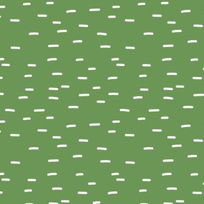 Minimal striped style dashes for St Patrick's Day green