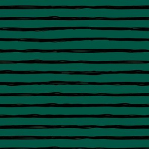 Minimal tripes and strokes St Patrick's Day night green