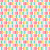 xoxo XSM rainbow UPPERcase