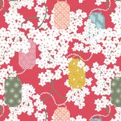 Kabuki White Blossom