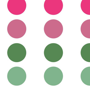 PINK GREEN_ MULTI DOTS 2