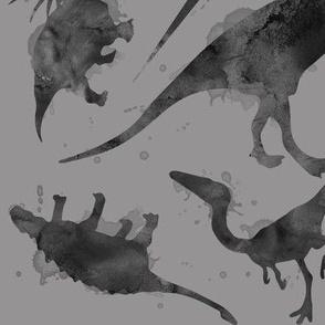 "Dinos - Grey 4"""