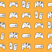 Game Controllers on Orange
