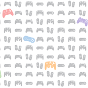 Game Controllers Pastels