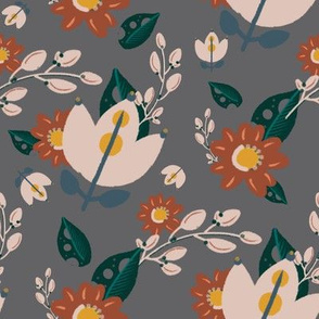 Arizona Collection - Gray Floral