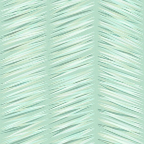 herringbone_mint_green