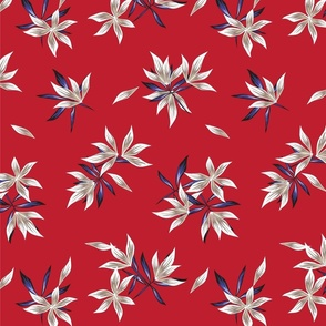 Floral print369-01