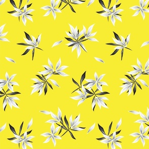 Floral print372-01