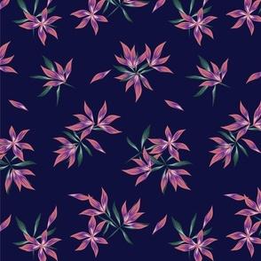 Floral print367-01