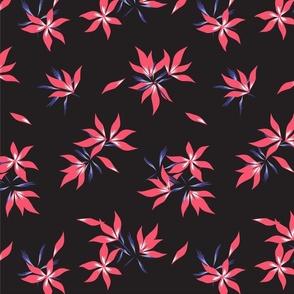Floral print370-01