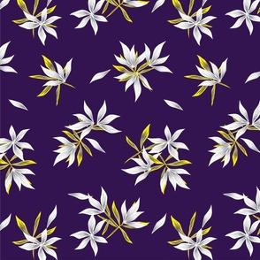 Floral print373-01