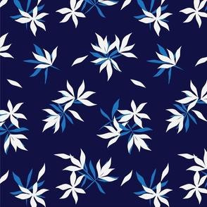 Floral print376-01