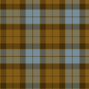 Hunting Tartan - Blue & Brown