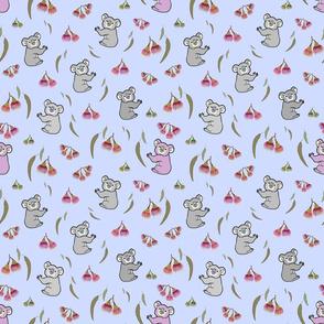 Nancy Koala & Friends - lilac purple, medium