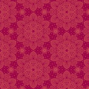 Starry Steps - Crimson