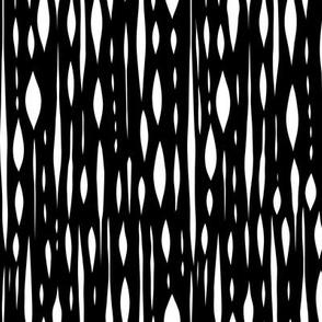 Habitat - Geometric Black and White