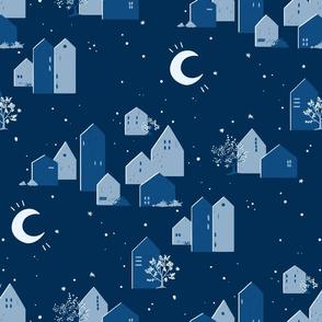 Blue Palette Houses