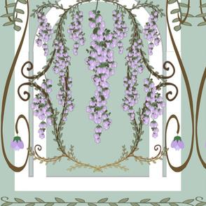 wisteria nouveau