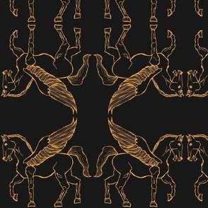 gold-pegasus