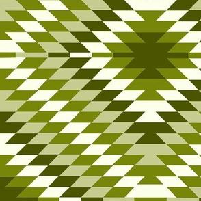 Kilim Eye in Asparagus Green