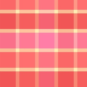Good Grid Plaid 12in-Rose Parade