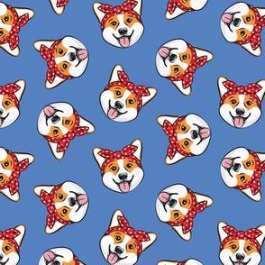 Rosie Corgi - Corgi dog - Pembroke Welsh Corgi - peri - LAD20